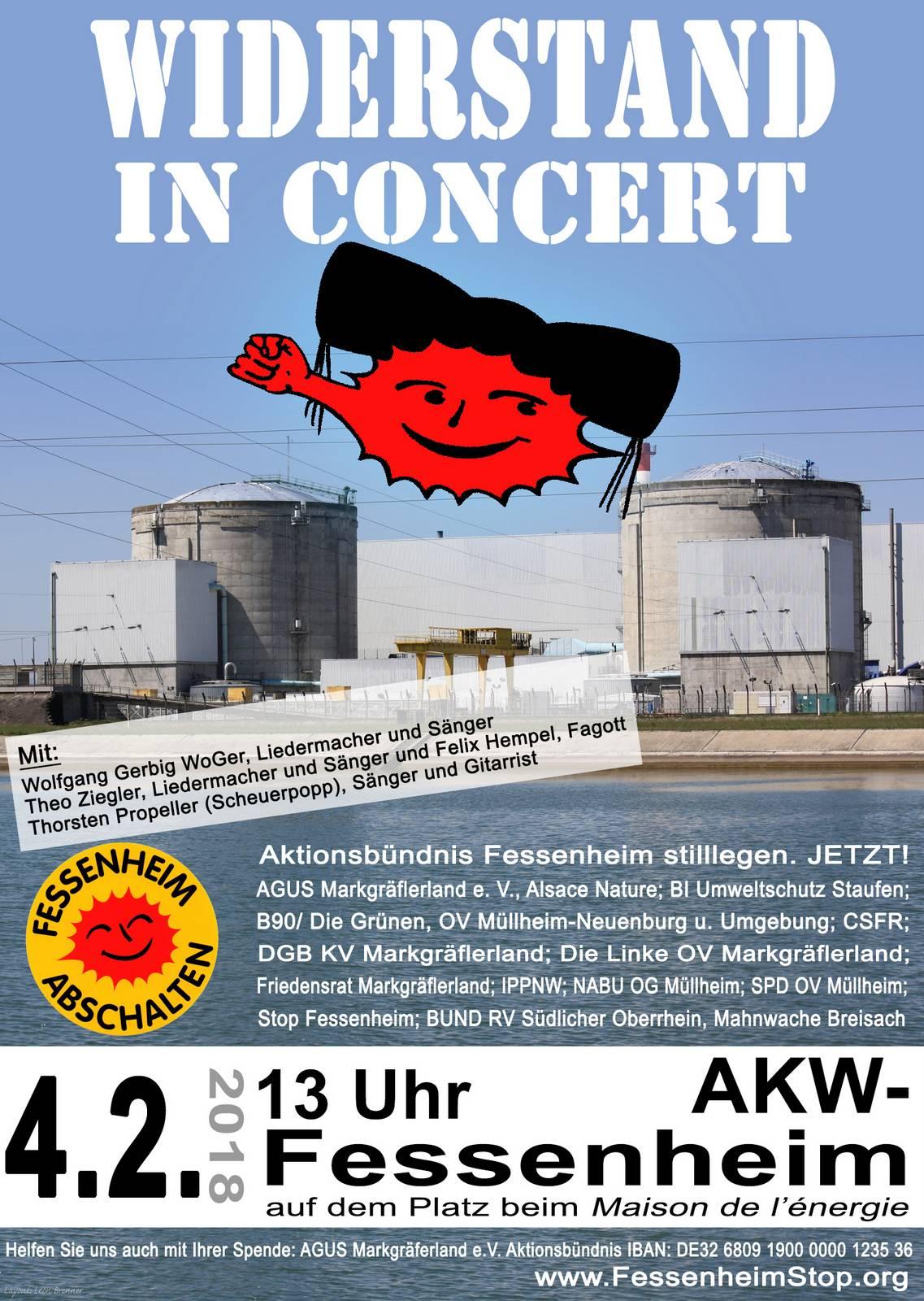 Widerstand in Concert